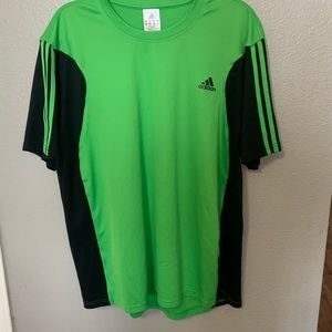 Men's Adidas climate cool athletic shirt